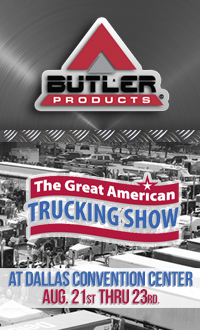 Great America Trucking Show at Dallas Convention Center ad